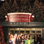 Mrs. Claus, Santa, Johnny and the Sprites from The Disney Channel, The Radio City Rockettes, and Mario Cantone